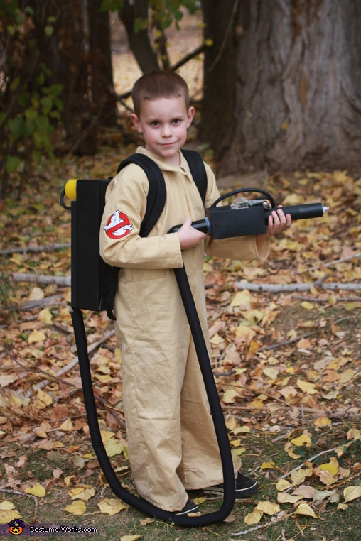 Best ideas about DIY Kids Ghostbuster Costume . Save or Pin Ghostbusters Stay Puft Marshmallow Man and Ghostbuster Now.