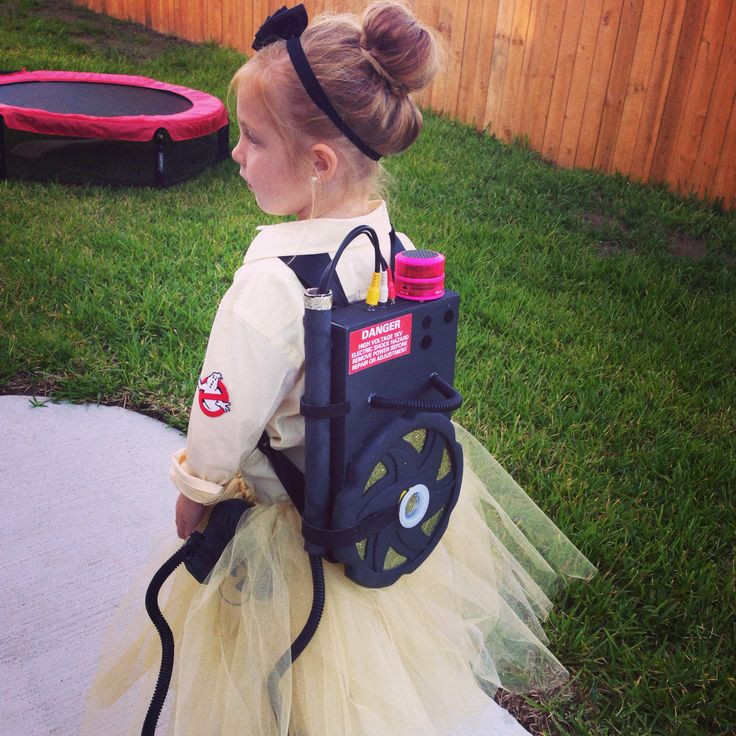 Best ideas about DIY Kids Ghostbuster Costume . Save or Pin Kids homemade costumes Female and girls ghostbuster Now.