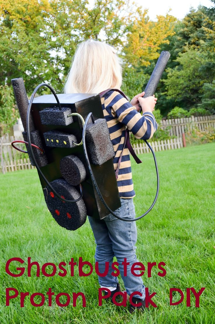 Best ideas about DIY Kids Ghostbuster Costume . Save or Pin Ghostbusters Proton Pack DIY Now.