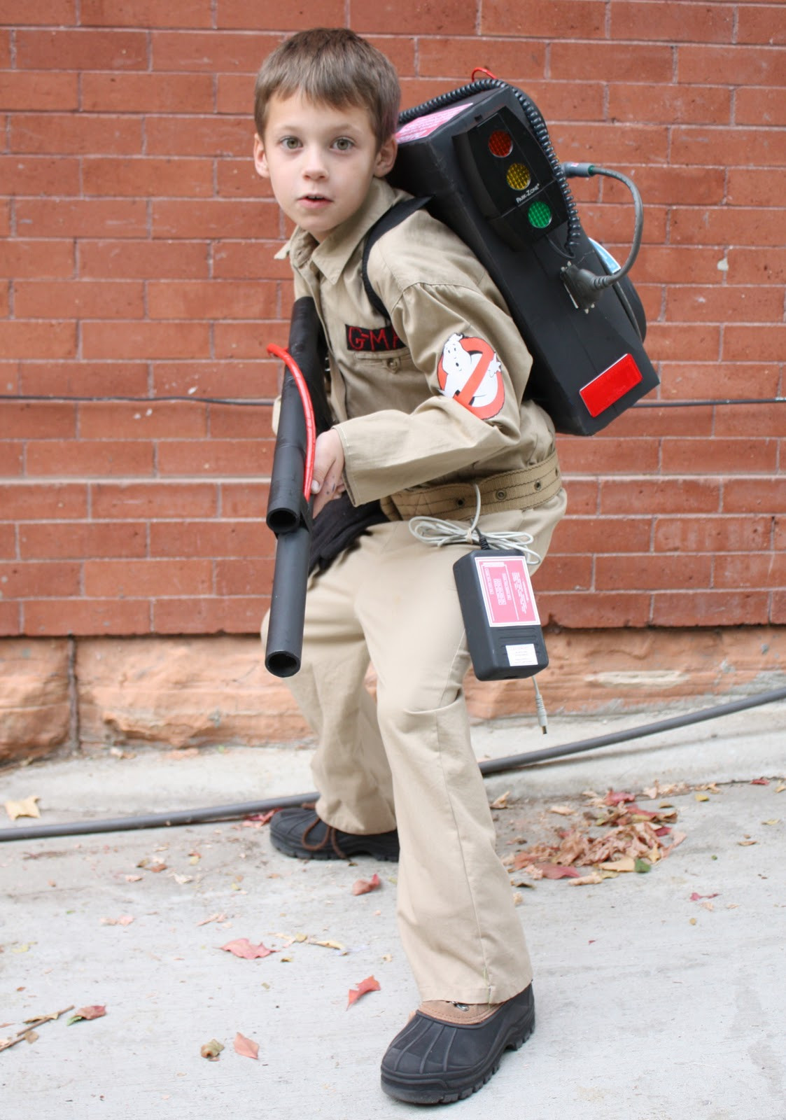 Best ideas about DIY Kids Ghostbuster Costume . Save or Pin At Second Street Who ya gonna call Now.