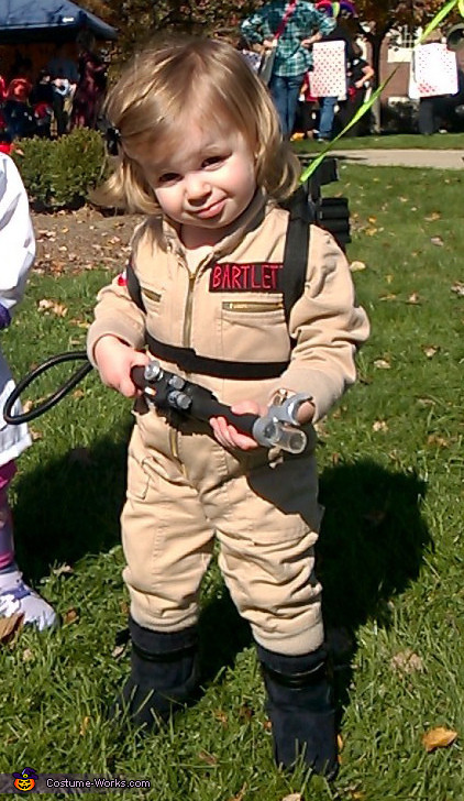 Best ideas about DIY Kids Ghostbuster Costume . Save or Pin Ghostbuster Baby Costume Now.