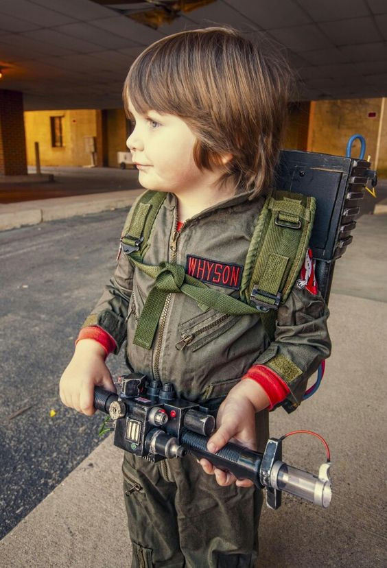 Best ideas about DIY Kids Ghostbuster Costume . Save or Pin Pinterest • The world's catalog of ideas Now.