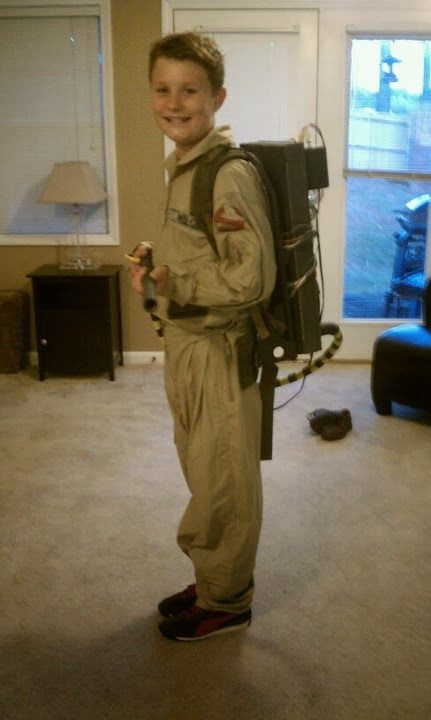 Best ideas about DIY Kids Ghostbuster Costume . Save or Pin DIY Ghostbuster halloween costume Now.