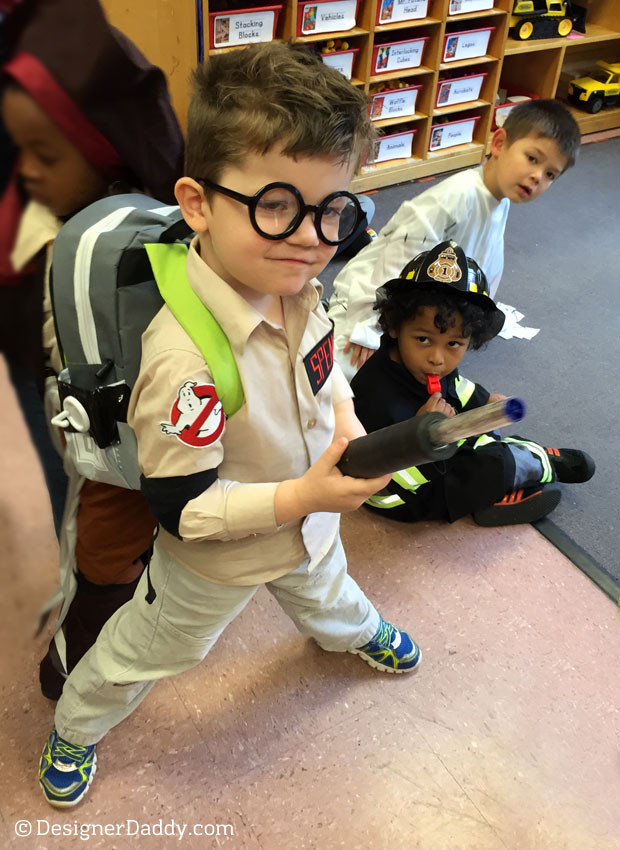Best ideas about DIY Kids Ghostbuster Costume . Save or Pin DIY Ghostbusters Halloween Costume Designer Daddy Now.