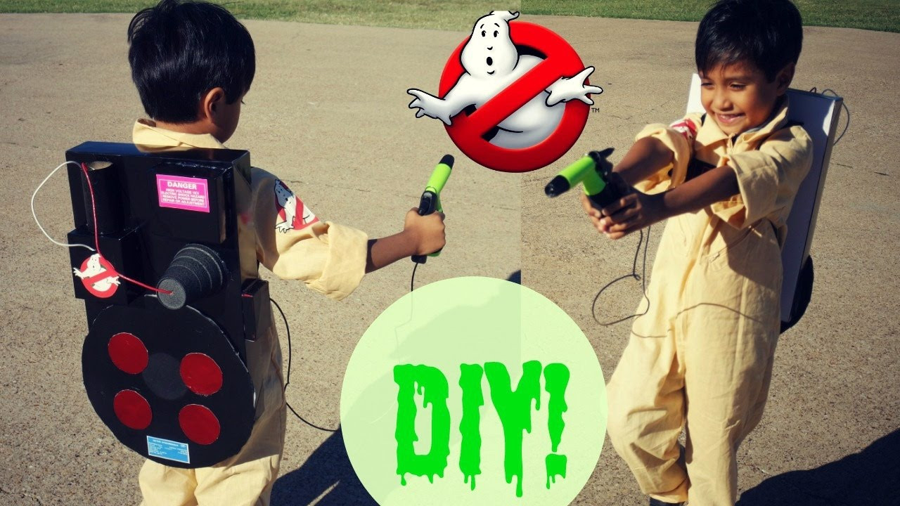 Best ideas about DIY Kids Ghostbuster Costume . Save or Pin Easy DIY Ghostbusters Proton Pack Now.