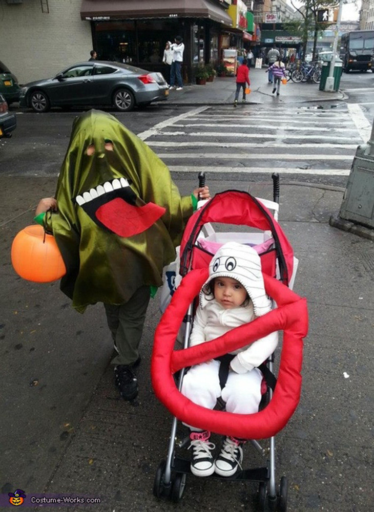 Best ideas about DIY Kids Ghostbuster Costume . Save or Pin Halloween Costumes For Siblings That Are Cute Creepy And Now.