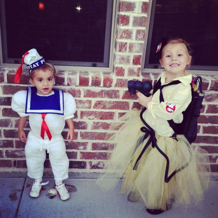 Best ideas about DIY Kids Ghostbuster Costume . Save or Pin Kids Halloween costumes ghostbuster staypuft homemade Now.