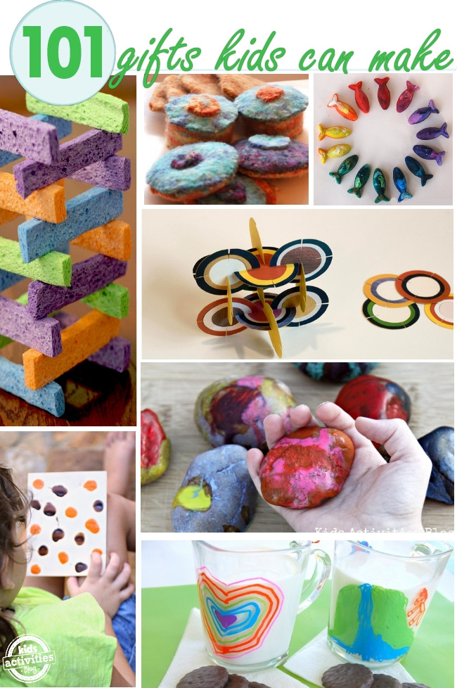 Best ideas about DIY Kids Gifts . Save or Pin 100 DIY GIFTS FOR KIDS Kids Activities Now.