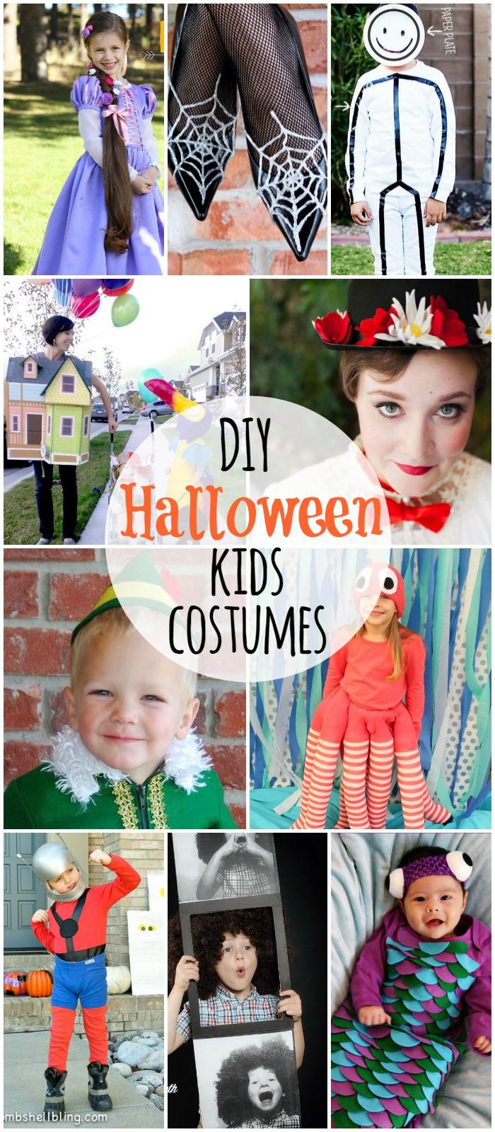 Best ideas about DIY Kids Halloween Costumes . Save or Pin DIY Halloween Kids Costumes Now.