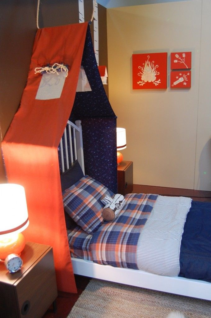 Best ideas about DIY Kids Headboard . Save or Pin 25 best ideas about Boys camping room on Pinterest Now.