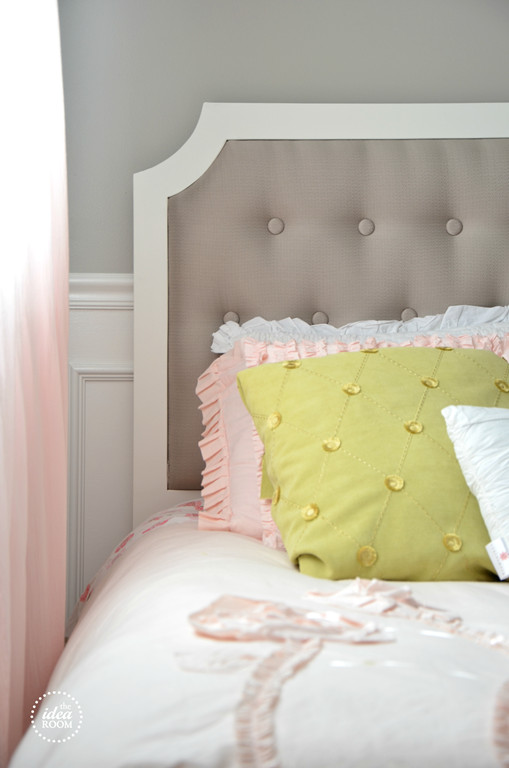 Best ideas about DIY Kids Headboard . Save or Pin DIY Tufted Headboard The Idea Room Now.