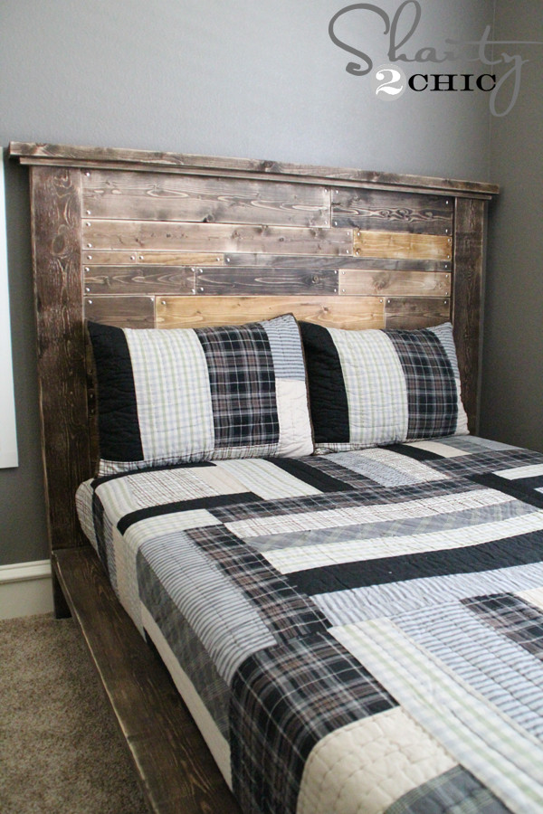 Best ideas about DIY Kids Headboard . Save or Pin DIY Planked Headboard Shanty 2 Chic Now.