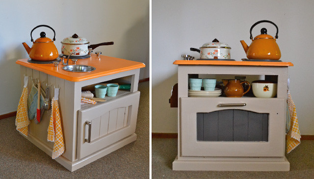 Best ideas about DIY Kids Kitchens . Save or Pin 20 coolest DIY play kitchen tutorials It s Always Autumn Now.