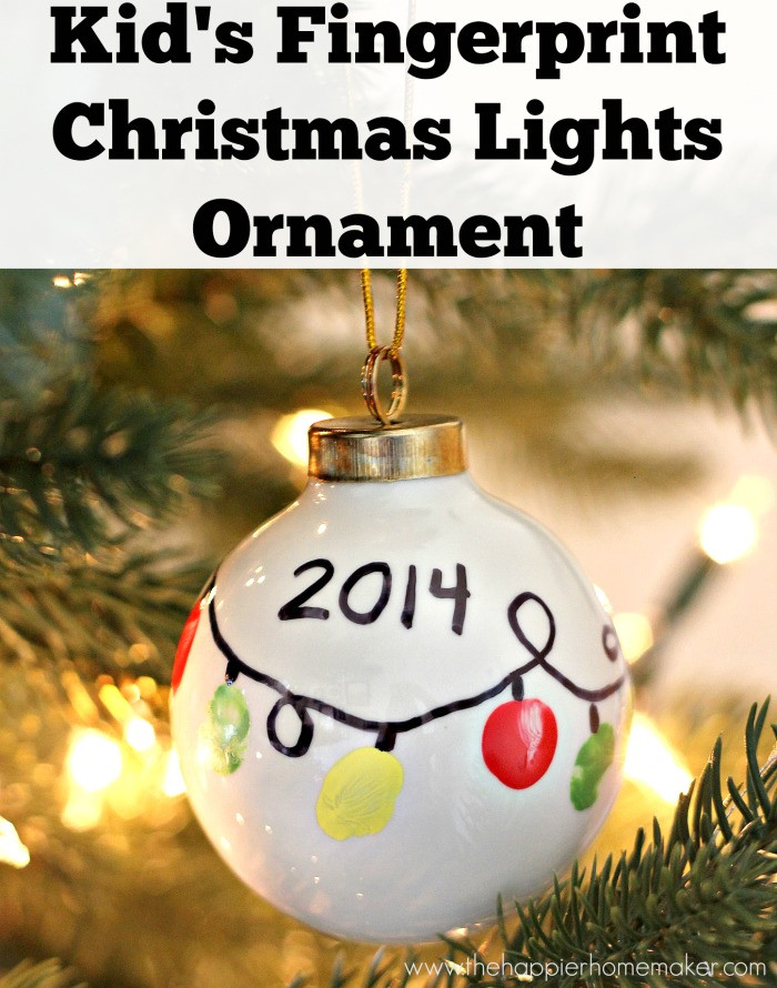 Best ideas about DIY Kids Ornaments . Save or Pin DIY Ornaments and Kids Christmas Crafts Close To Home Now.