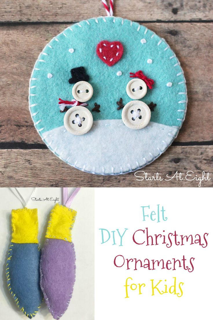 Best ideas about DIY Kids Ornaments . Save or Pin 362 Best images about Have a Holly Jolly Christmas on Now.