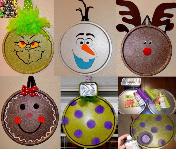 Best ideas about DIY Kids Ornaments . Save or Pin 40 Homemade Christmas Ornaments Kitchen Fun With My 3 Sons Now.