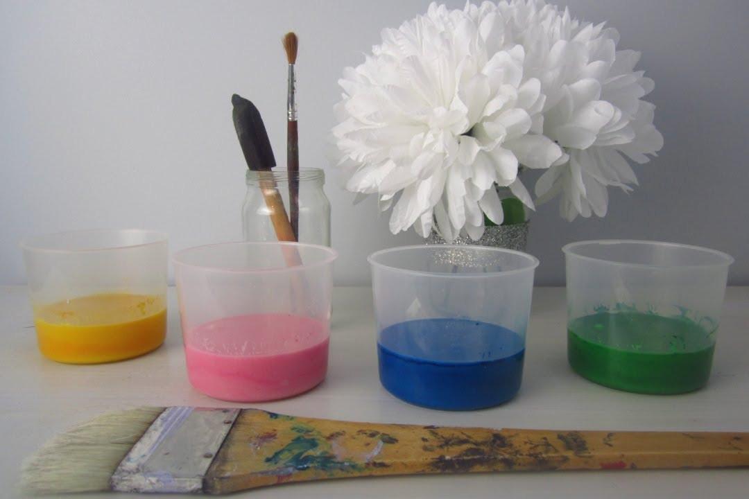Best ideas about DIY Kids Paint . Save or Pin Kids DIY Kids Paint Fun Canvas Idea Now.