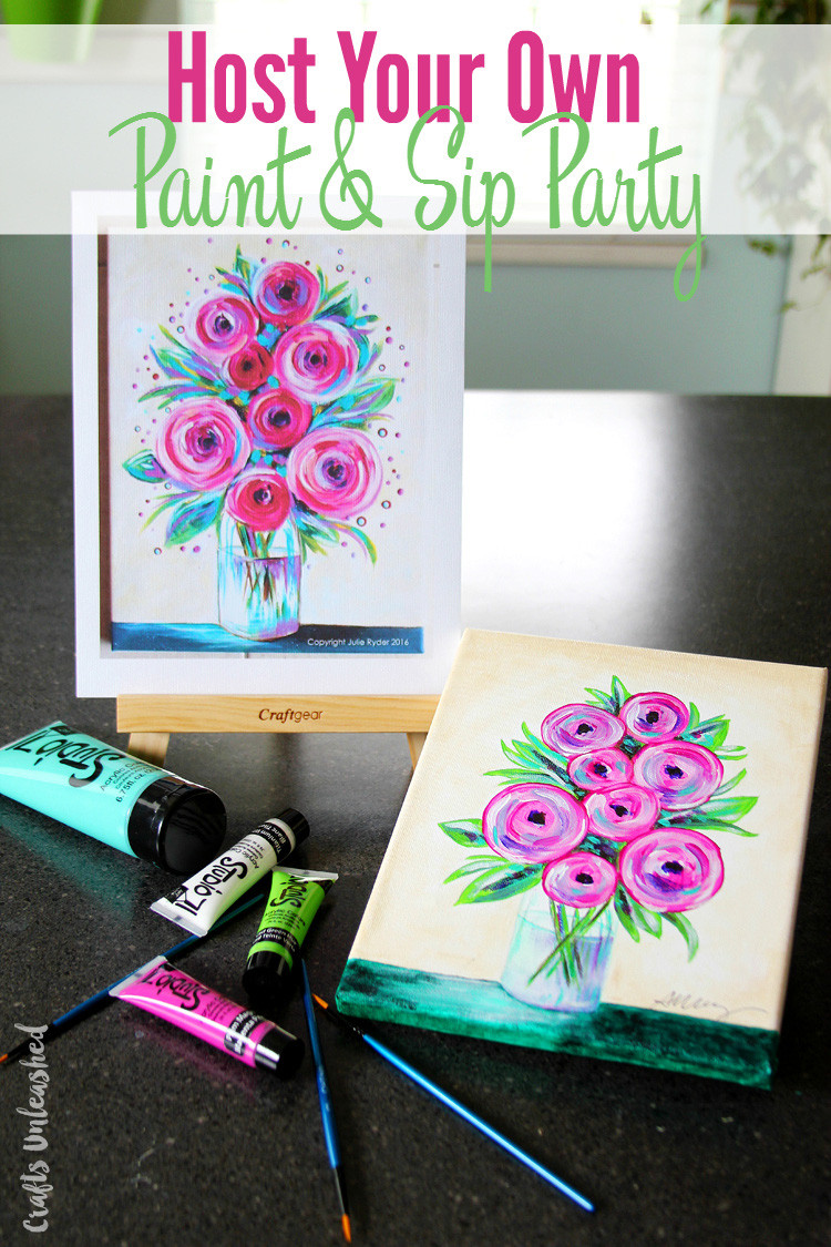 Best ideas about DIY Kids Painting Party . Save or Pin DIY Painting Party Host Your Own Paint & Sip Consumer Now.