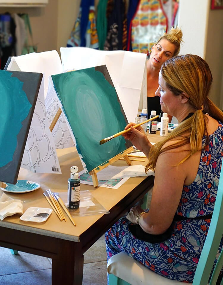 Best ideas about DIY Kids Painting Party . Save or Pin Host Your Own Wine & Paint Party Happiness is Homemade Now.