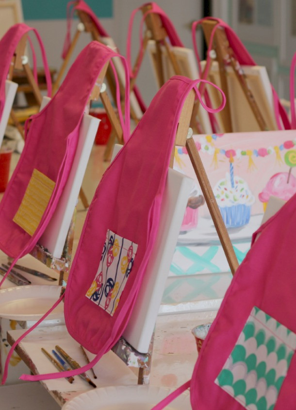 Best ideas about DIY Kids Painting Party . Save or Pin DIY Children s Painting Aprons Diary of an Addict Now.