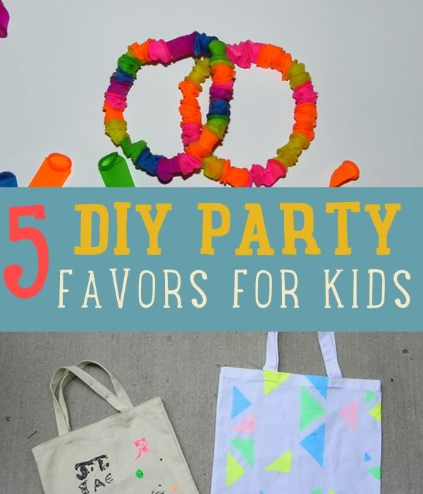 Best ideas about DIY Kids Party Favors . Save or Pin DIY Party Favor Craft Ideas DIY Projects Craft Ideas & How Now.