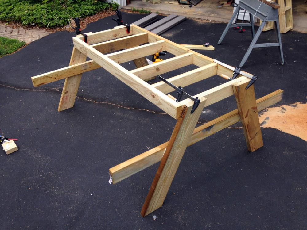 Best ideas about DIY Kids Picnic Table . Save or Pin How to Build a Picnic Table in Just e Day Now.