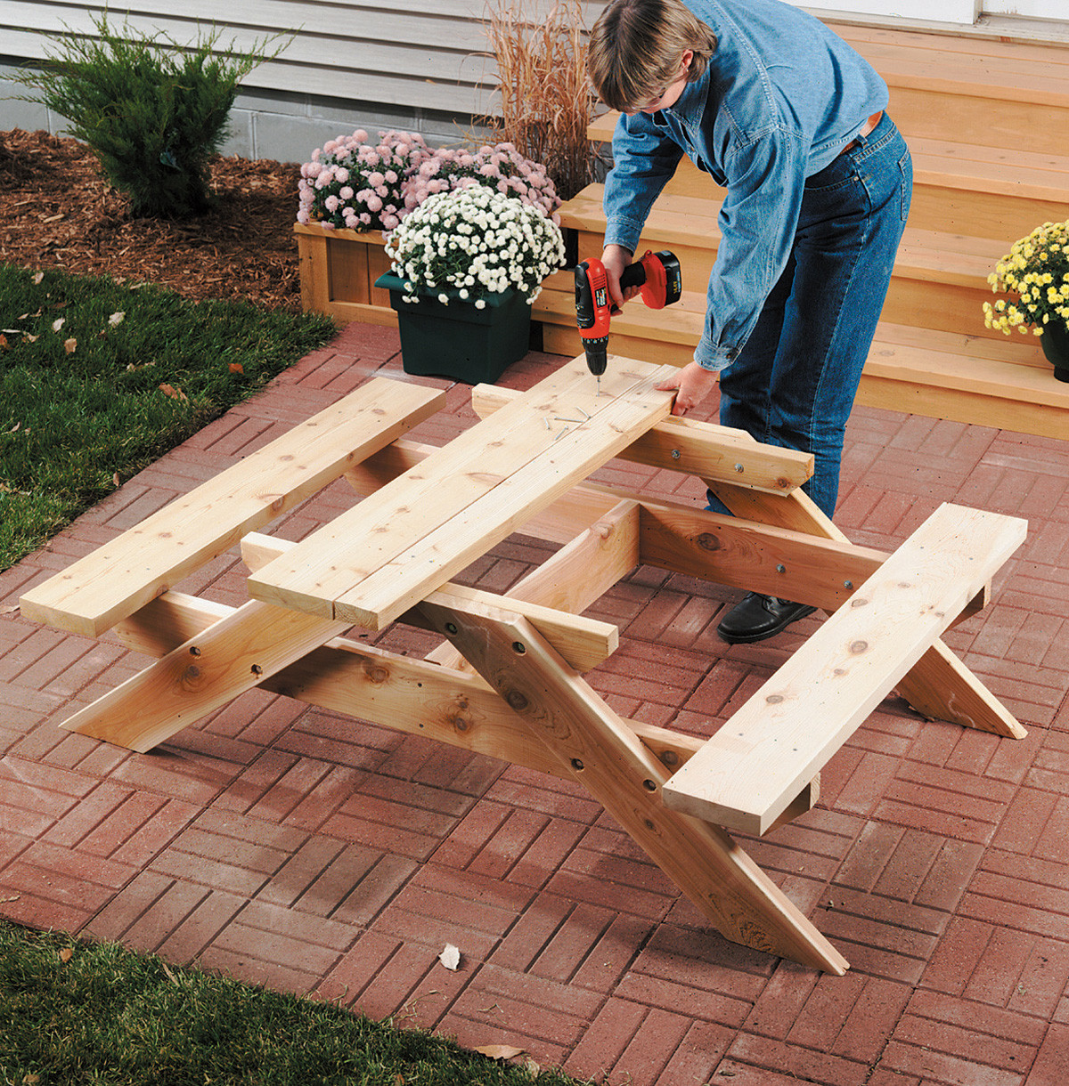 Best ideas about DIY Kids Picnic Table . Save or Pin DIY Kids Picnic Table Now.