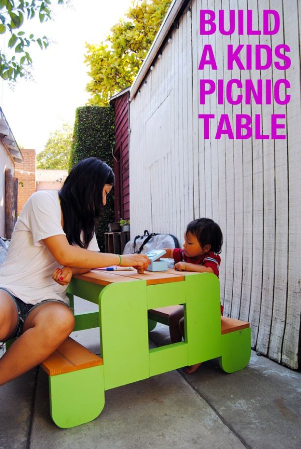 Best ideas about DIY Kids Picnic Table . Save or Pin How to Build a Kids Picnic Table Now.