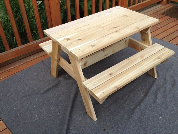 Best ideas about DIY Kids Picnic Table . Save or Pin Kids Picnic Table Now.