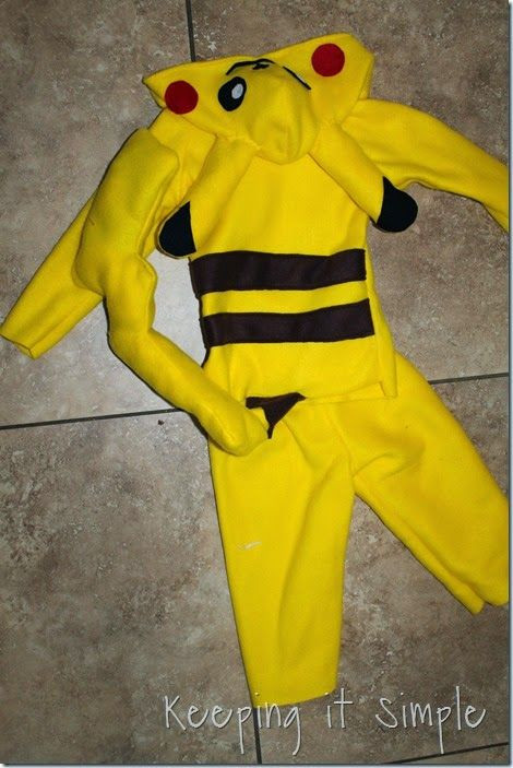 Best ideas about DIY Kids Pikachu Costume . Save or Pin 25 best ideas about Pikachu Costume on Pinterest Now.