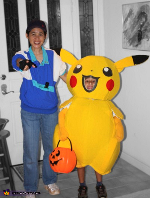 Best ideas about DIY Kids Pikachu Costume . Save or Pin Pikachu and Ash Pokemon Costumes for Kids Now.