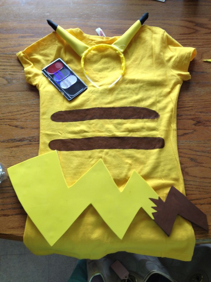 Best ideas about DIY Kids Pikachu Costume . Save or Pin Pikachu Halloween costume DIY Homemade Now.