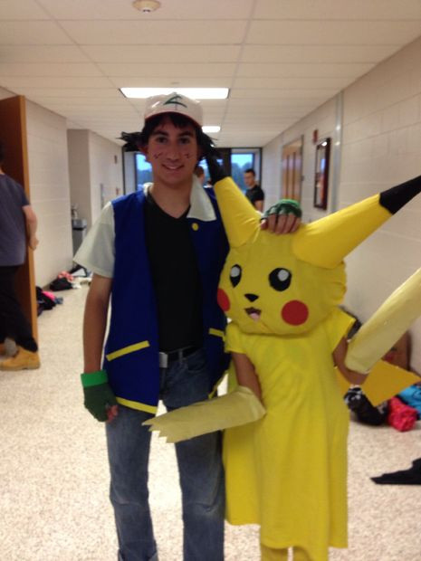 Best ideas about DIY Kids Pikachu Costume . Save or Pin Ash And Pikachu Costumes Pokemon Now.