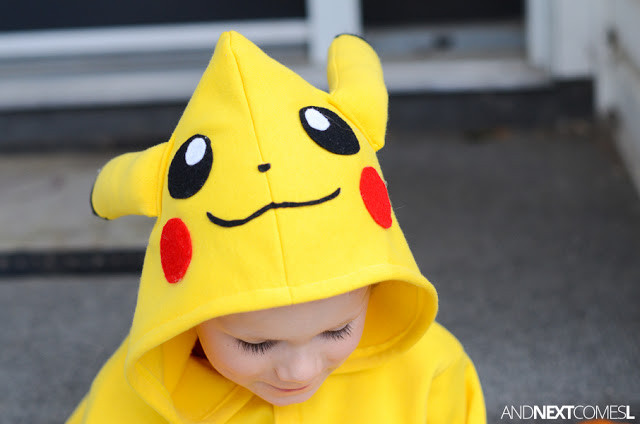 Best ideas about DIY Kids Pikachu Costume . Save or Pin Homemade Pikachu Costume Now.