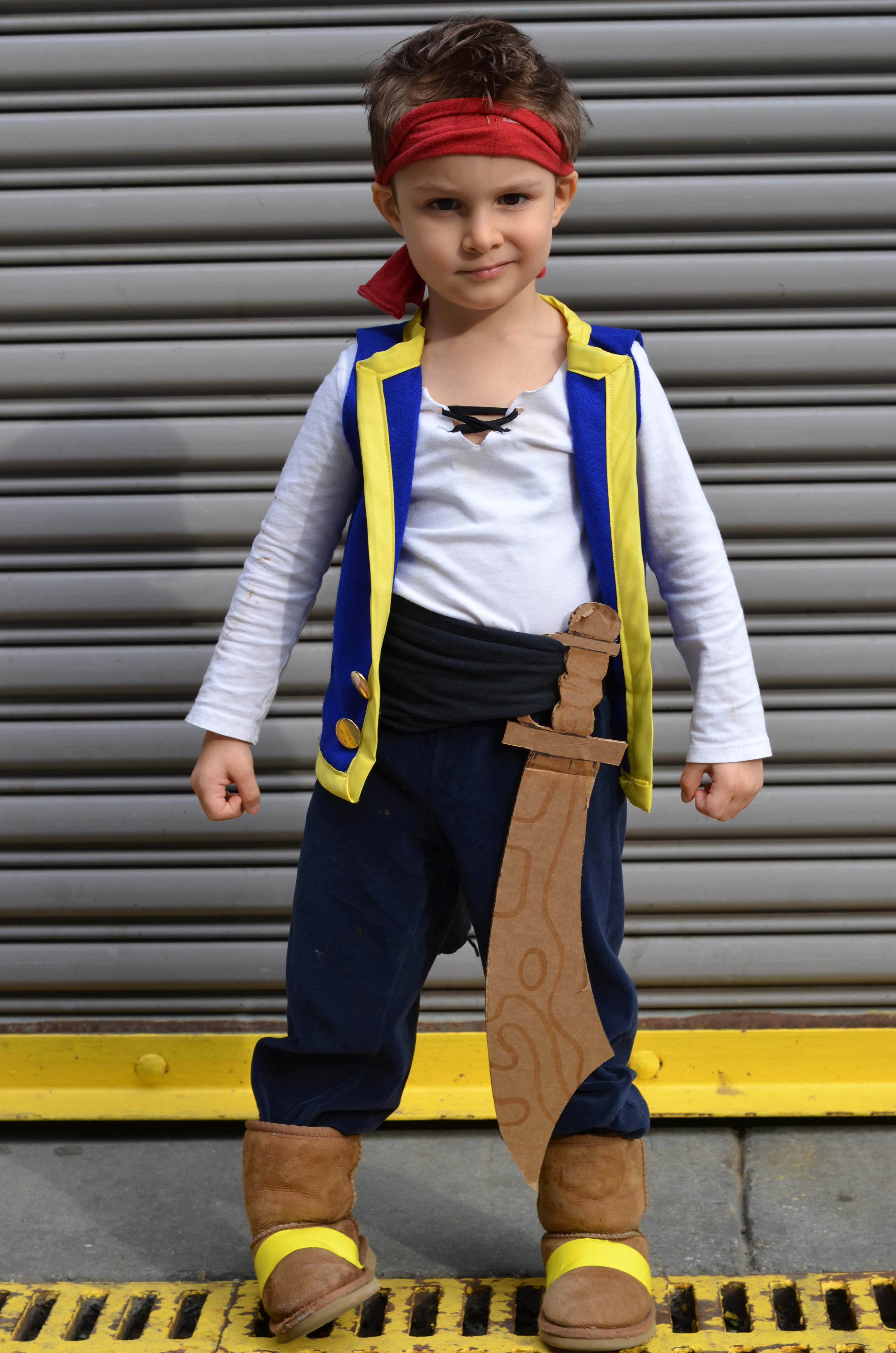 Best ideas about DIY Kids Pirate Costume . Save or Pin DIY Halloween Costumes for Kids Now.