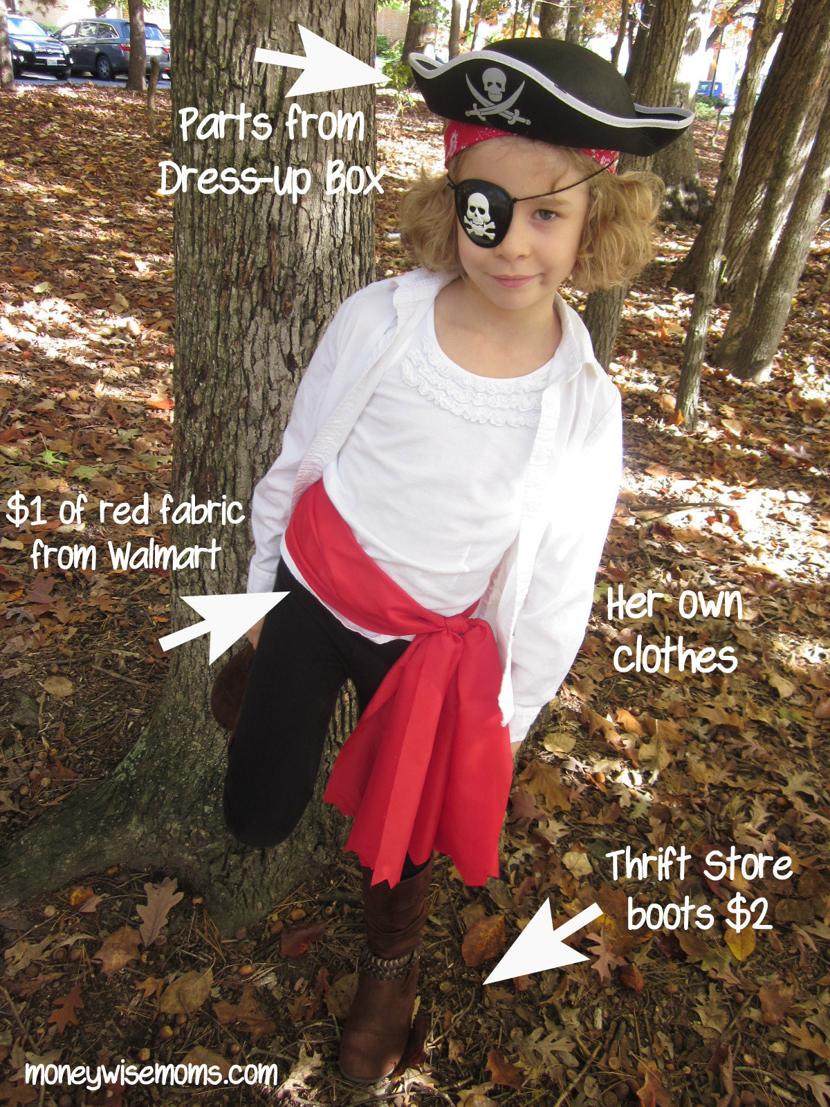 Best ideas about DIY Kids Pirate Costume . Save or Pin Pirate Costume Tips for a Moneywise Halloween Now.