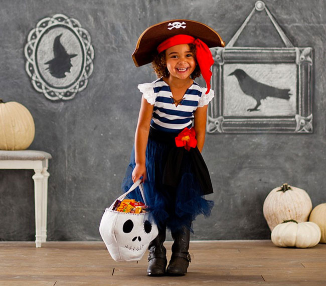 Best ideas about DIY Kids Pirate Costume . Save or Pin Easy Peasy Pirate Eyepatch a Halloween Costume DIY Now.