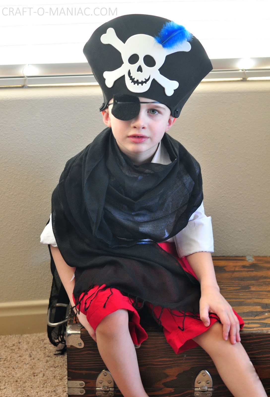 Best ideas about DIY Kids Pirate Costume . Save or Pin Kids Activity Dress Up Costumes Craft O Maniac Now.