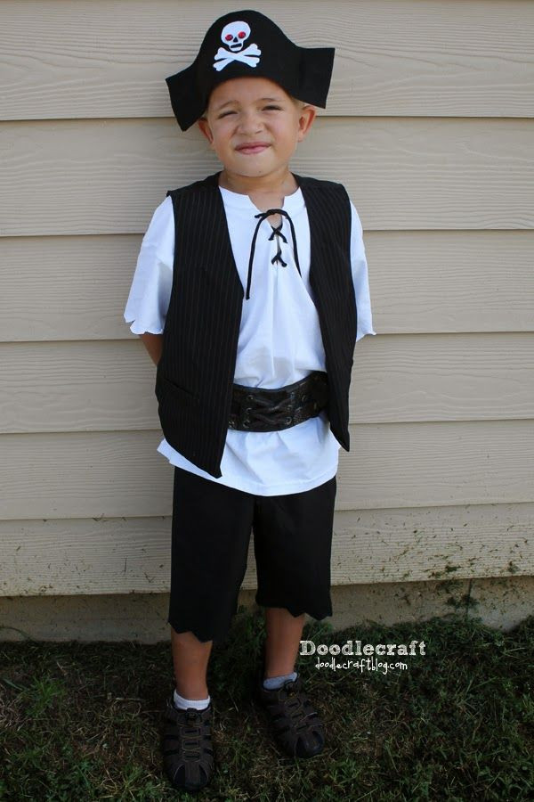 Best ideas about DIY Kids Pirate Costume . Save or Pin Simple Pirate Costumes in 2019 costume Now.
