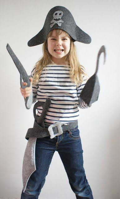 Best ideas about DIY Kids Pirate Costume . Save or Pin 30 PIRATE COSTUMES FOR HALLOWEEN Godfather Style Now.