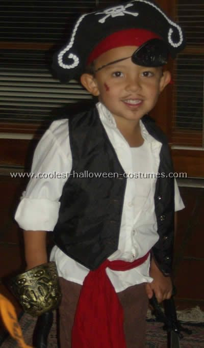 Best ideas about DIY Kids Pirate Costume . Save or Pin 10 Cool Homemade Pirate Costume Ideas for Halloween Now.
