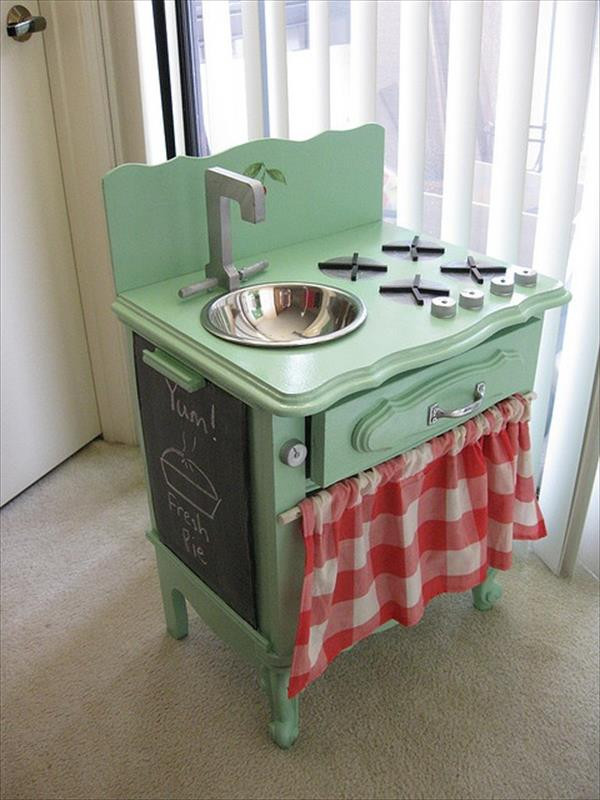 Best ideas about DIY Kids Play Kitchen . Save or Pin 10 DIY Play Kitchen Sets Now.