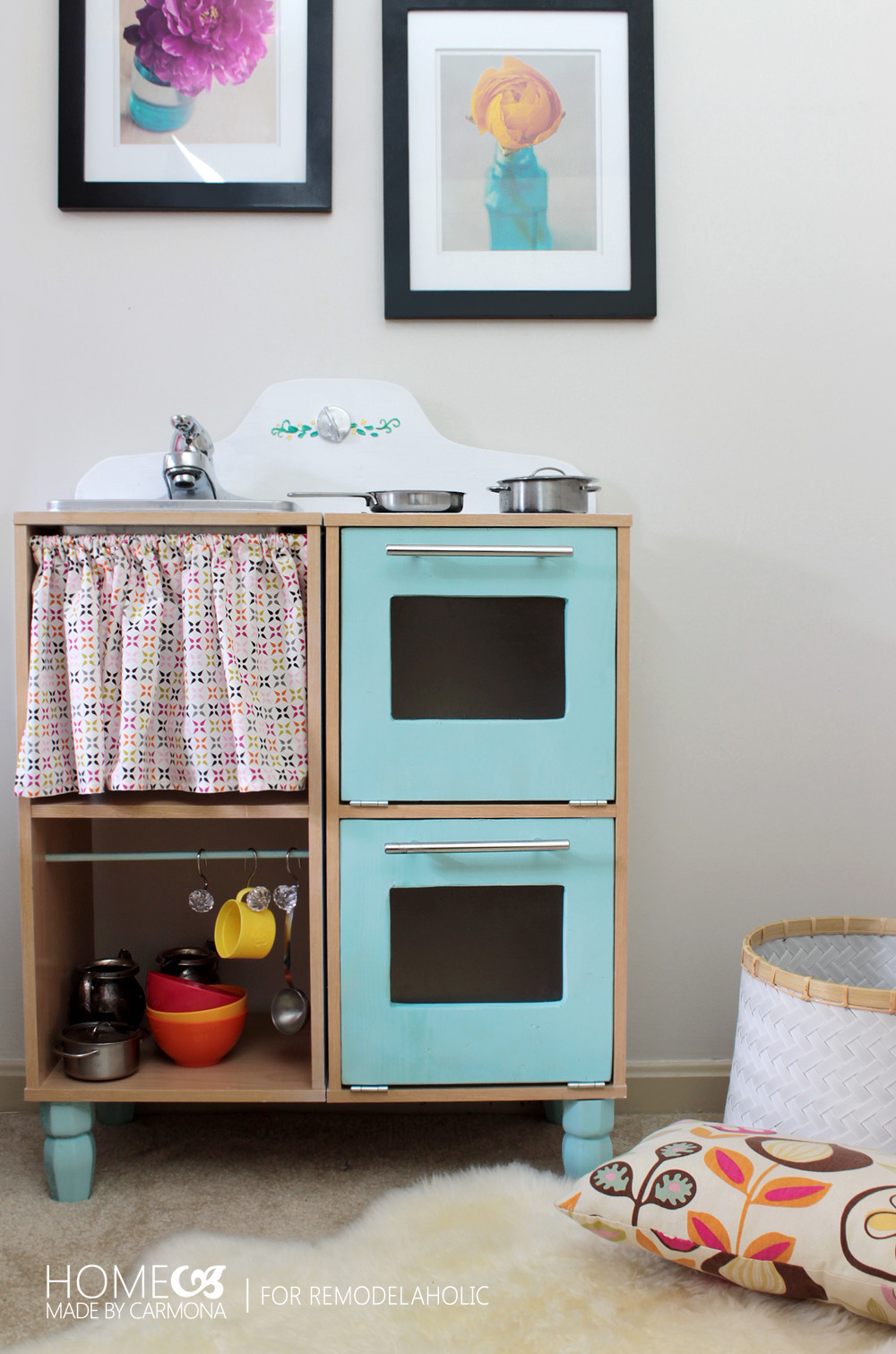 Best ideas about DIY Kids Play Kitchen . Save or Pin Remodelaholic Now.