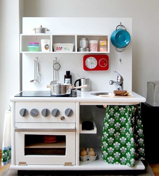 Best ideas about DIY Kids Play Kitchen . Save or Pin 5 Cool Kids DIY Kitchen Sets Now.