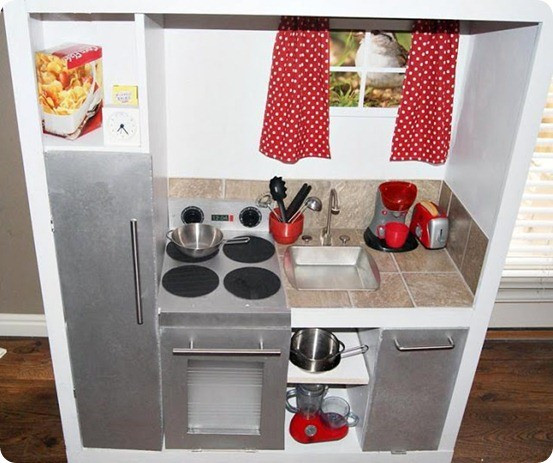 Best ideas about DIY Kids Play Kitchen . Save or Pin Kids Play Kitchen Now.