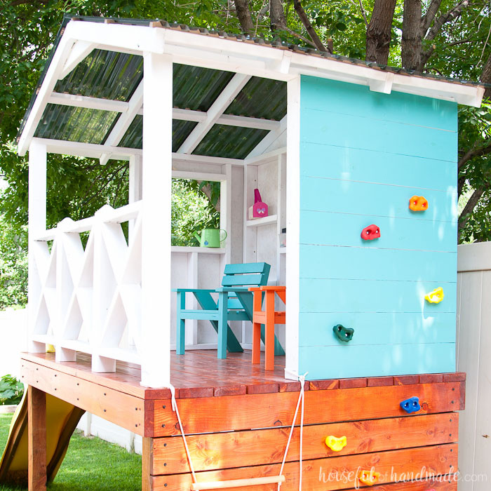 Best ideas about DIY Kids Playhouse . Save or Pin Our DIY Playhouse The Roof Houseful of Handmade Now.