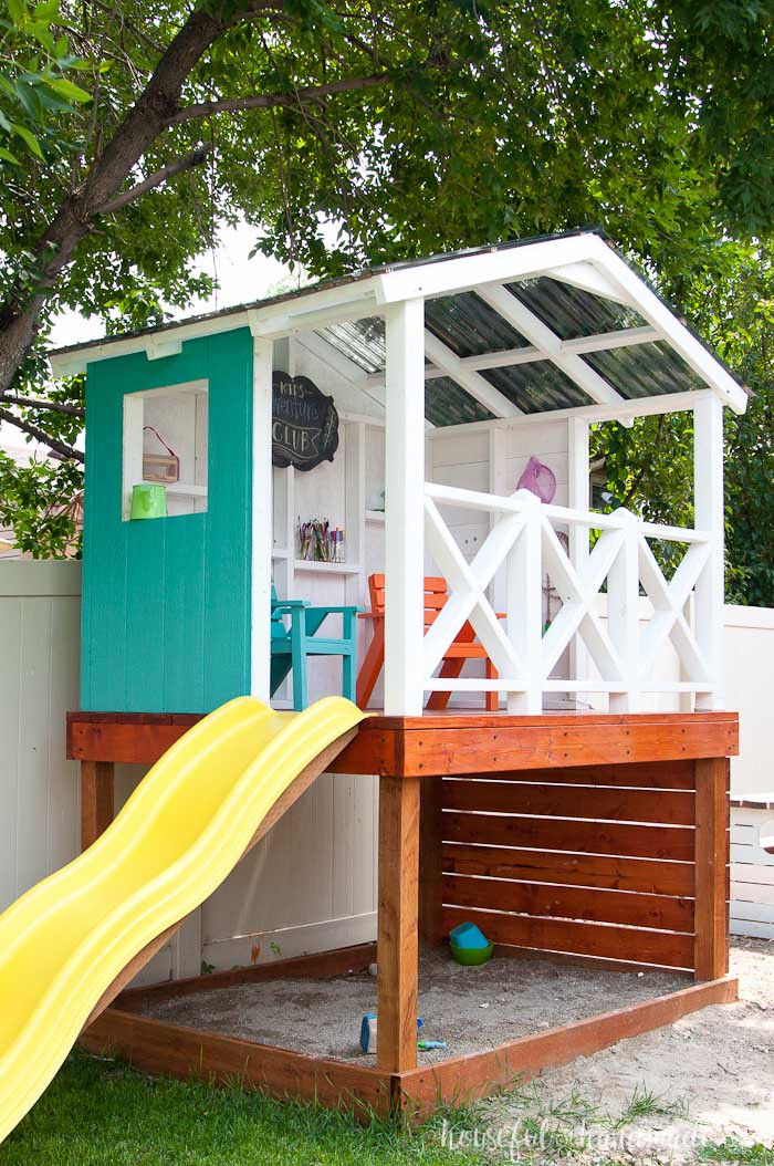 Best ideas about DIY Kids Playhouse . Save or Pin Our DIY Playhouse The Roof a Houseful of Handmade Now.
