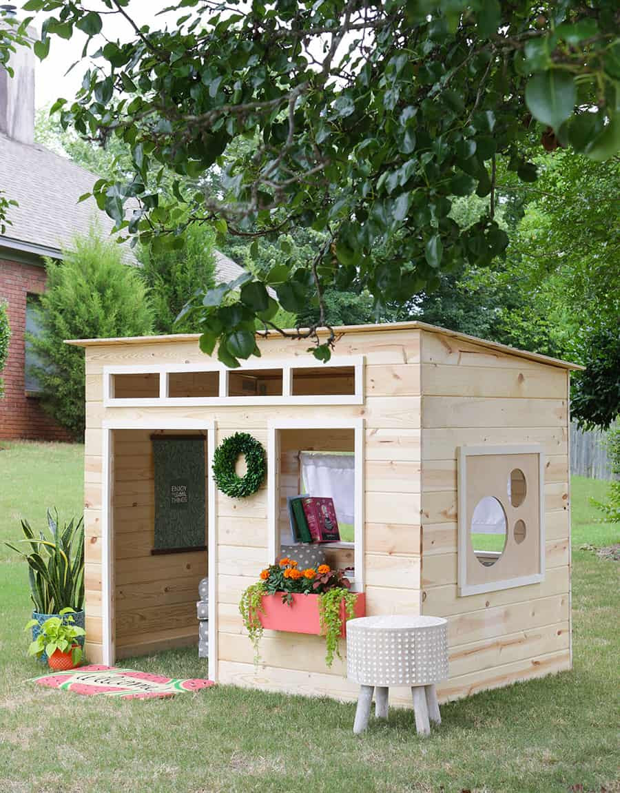 Best ideas about DIY Kids Playhouse . Save or Pin 43 Free DIY Playhouse Plans That Children & Parents Alike Now.