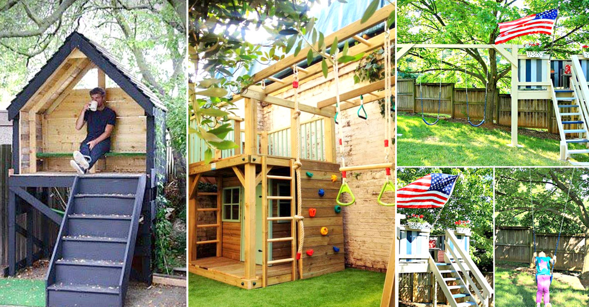 Best ideas about DIY Kids Playhouse . Save or Pin 15 Awesome Kids Wooden Playhouses For Your Yard Now.