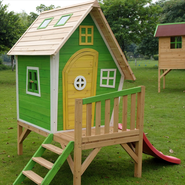 Best ideas about DIY Kids Playhouse . Save or Pin DIY Designs Kids Pallet Playhouse Plans Now.
